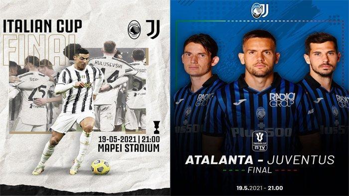 Sedang Berlangsung Live Atalanta vs Juventus Final Coppa Italia 2021 Nonton Siarang Langsung TVRI