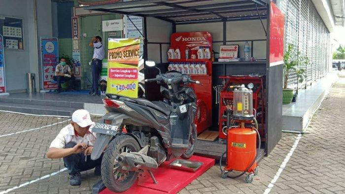 KABAR Gembira, Servis Motor di AHASS Honda Kalbar Bisa Dapat Diskon Spesial HUT Kemerdekaan RI ke 75