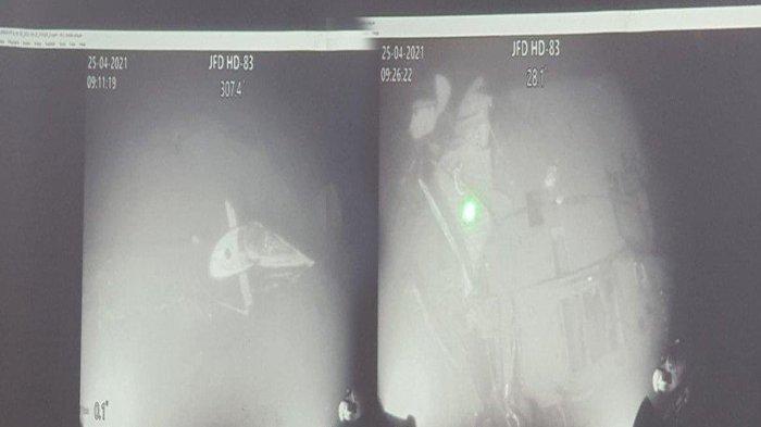 KABAR Terbaru KRI Nanggala 402 Sekarang, Foto KRI Nanggala di Dasar Laut Terbelah Jadi 3 Bagian