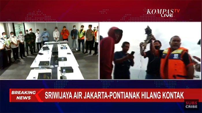 UPDATE Kondisi Terkini Pesawat Sriwijaya Air Hilang Kontak ...