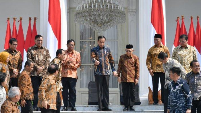 Di Tengah Isu Reshuffle Kabinet IPS Rilis Survei Kinerja Menteri! Prabowo dan Sandiaga Uno 5 Besar