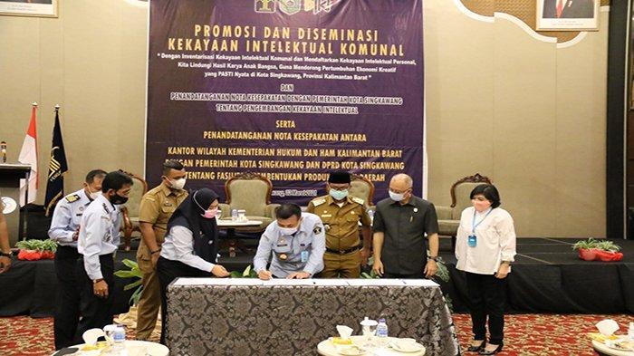 Kanwil Kemenkumham Kalbar Jalin Nota Kesepakatan Bersama Pemkot dan DPRD Singkawang