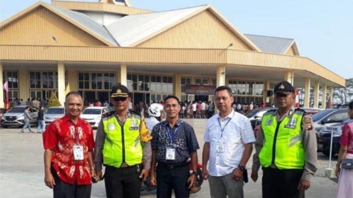 Operasi Lilin Kapuas 2018, Kapolsek Pontianak Barat Beserta Anggotanya Amankan Ibadah Natal
