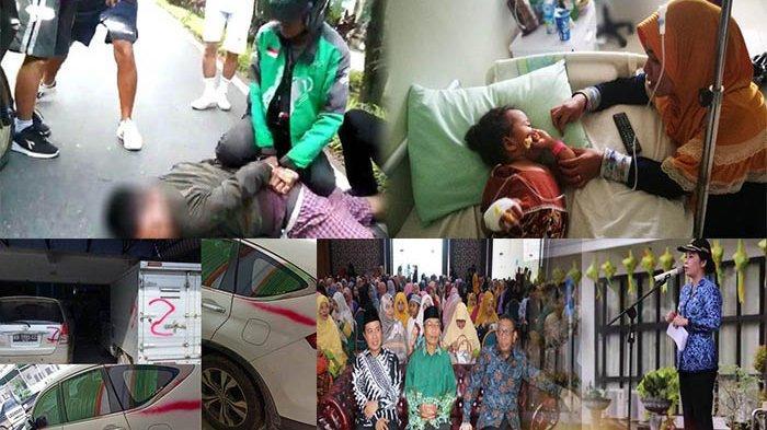 Kalbar 24 Jam - Aksi Driver Ojol Ringkus Jambret, Perahu Tenggelam Sungai Landak, hingga Vandalisme