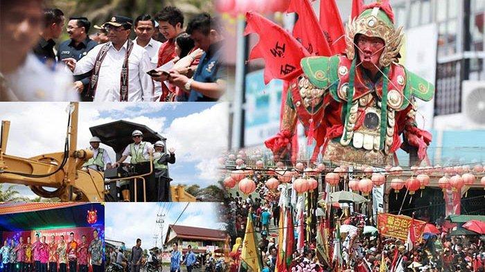 Kalbar 24 Jam - Banjir Ngabang, Ritual Cuci Jalan, Menteri Perhubungan Canangkan Bandara Singkawang