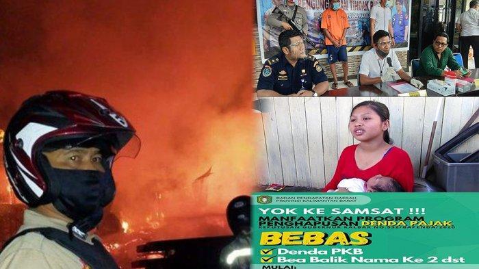 KALBAR 24 JAM -Nasib Korban Kebakaran, Covid-19 di Kalbar hingga PenyelundupanTelur Penyu