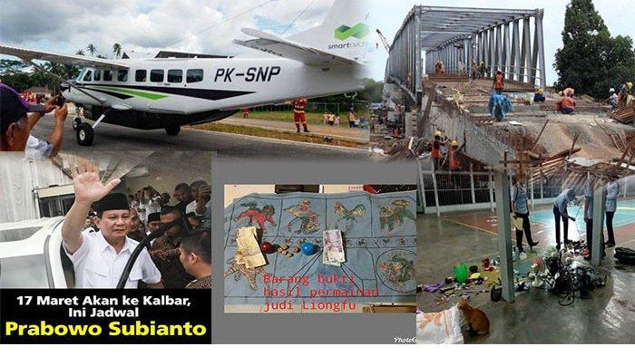 Kalbar 24 Jam - Sidak Lapas, Prabowo Bakal ke Kalbar, Hingga Uji Coba Pesawat Cessna di Singkawang