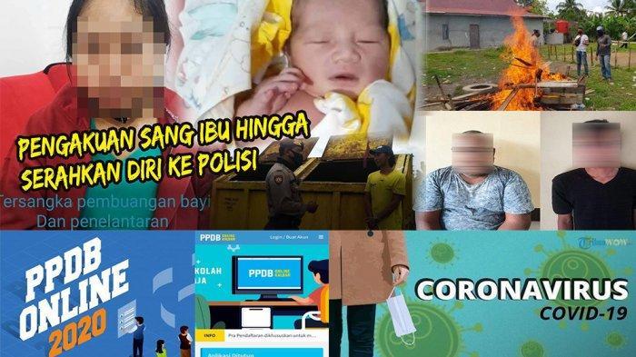 KALBAR 24 JAM -Tersangka Pembuang Bayi di Tempat Sampah, hingga Pengumuman PPDB Kalbar SMA Ditunda
