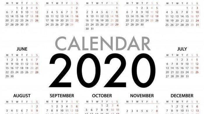 Daftar Kalender Libur Nasional dan Cuti Bersama 2020 Setelah Revisi Akibat Virus Corona