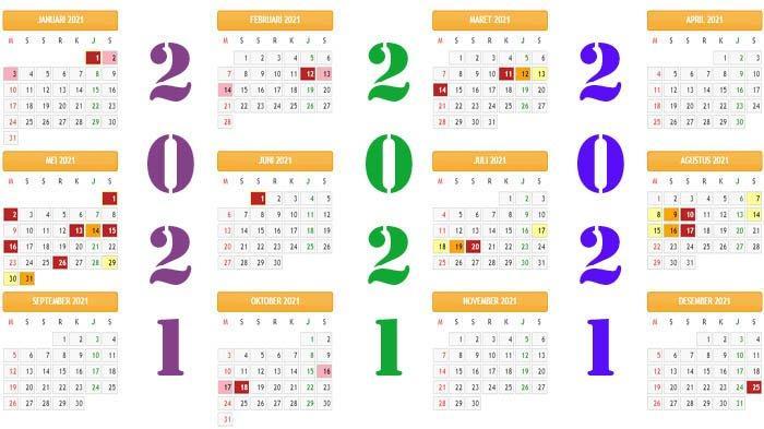 FIKS Kalender 2021 Lengkap Kalender Islam 2021 Ada yang ...