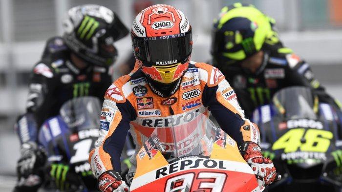 Honda Alami Krisis di Tes Pramusim MotoGP 2020, Marquez Optimis dan Rossi Tertawa