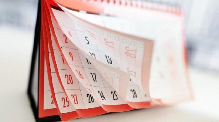 UPDATE Kalender 2021 - Jumlah Cuti Bersama Setelah Dipangkas Libur Natal Isra Miraj dan Idul Fitri