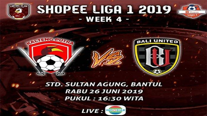 Prediksi Skor Kalteng Putra Vs Bali United Liga 1 2019, Ujian Laga Tandang Pertama Serdadu Tridatu
