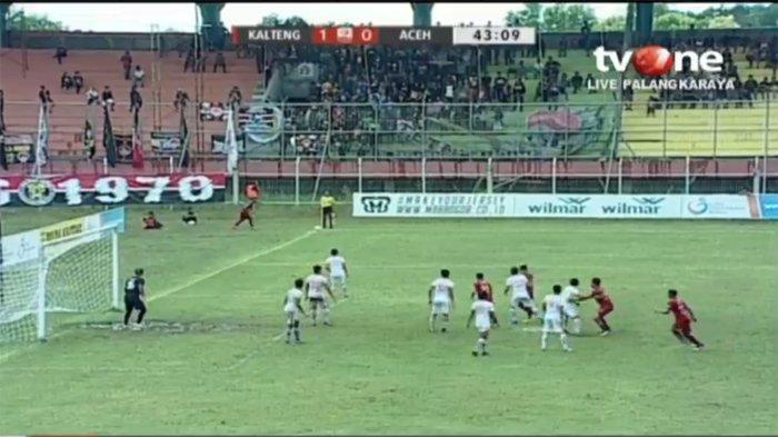 LIVE BOLA Streaming Babak II Kalteng Putra Vs Aceh United (1-0 HT), Aceh United di Ujung Tanduk