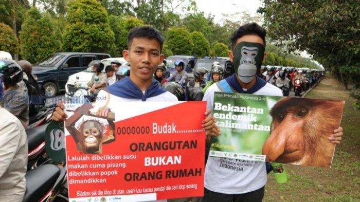 Kampanye Damai Peringati Hari Primata Indonesia di Bundaran Untan, Ini Foto-fotonya! - kampanye-damai_20180130_185528.jpg