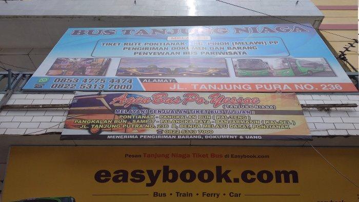 Mau Booking Bus Tanjung Niaga Tujuan Pontianak - Nanga Pinoh, Ini Alamat dan Nomor Teleponnya