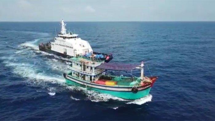 KKP Tangkap 3 Kapal Ikan Vietnam di Laut Natuna Utara