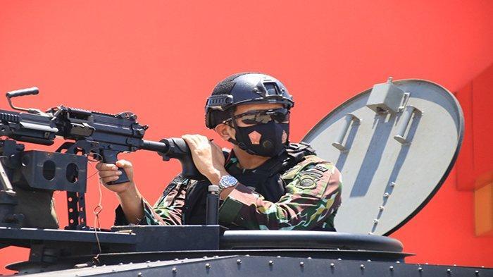 Kapolda Kalbar Pimpin Langsung Latihan Urban Warfare
