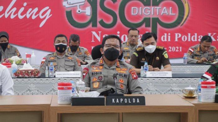 Percepatan Penanganan Karhutla, Kapolri Luncurkan Aplikasi Asap Digital Nasional Secara Virtual