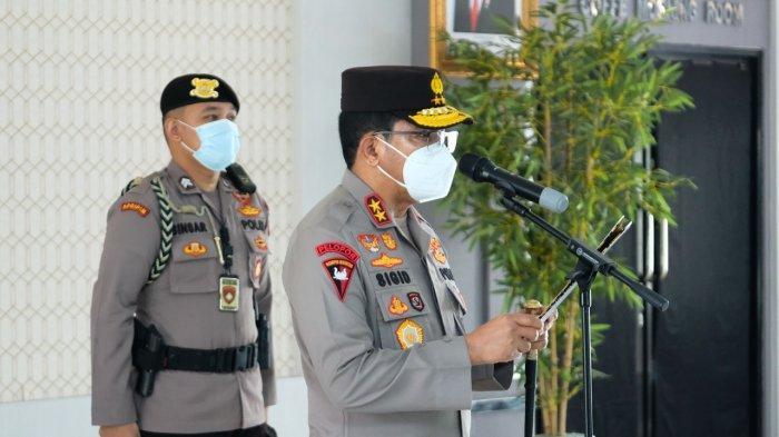 Pimpin Upacara Pelantikan Dir Samapta & Sertijab Karumkit Bhayangkara, Berikut Arahan Kapolda Kalbar