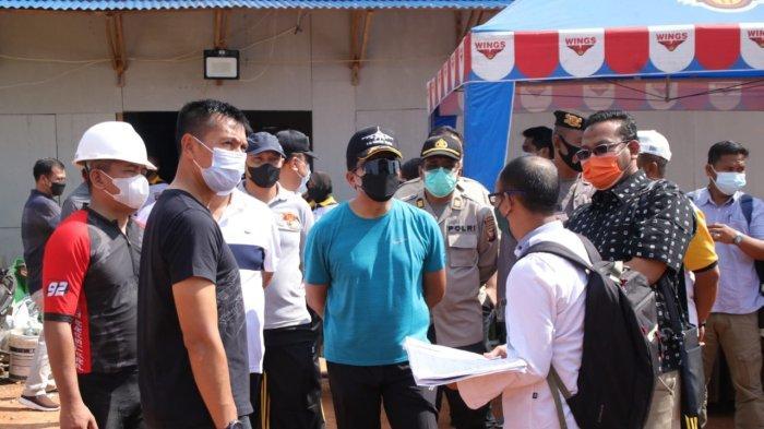 Kapolda Kalbar Tinjau Pembangunan Polres Kubu Raya dan Cek Fasilitas Kesatriaan Kompi Dalmas