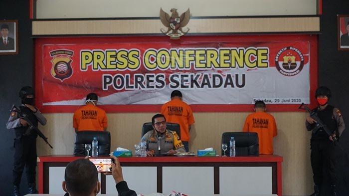 Polres Sekadau Ungkap Kasus Tindak Pidana Narkotika Jenis Sabu