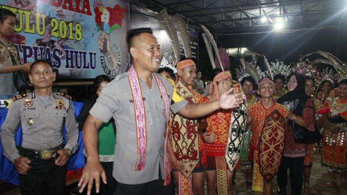 Kapolres Ajak Masyarakat Lestarikan Budaya Asli Kapuas Hulu