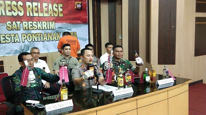 Penanggung Jawab Ribuan Minol yang Ditetapkan Tersangka Merupakan Warga Surabaya