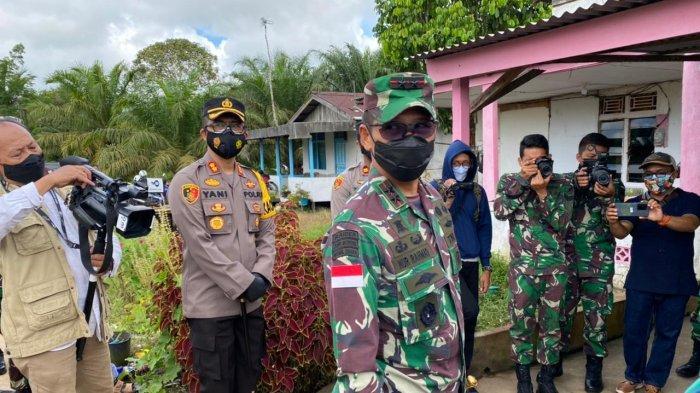 16 Orang Dinyatakan Positif Covid-19, Warga Mega Blora Kabupaten Kubu Raya Dilarang Keluar Dusun