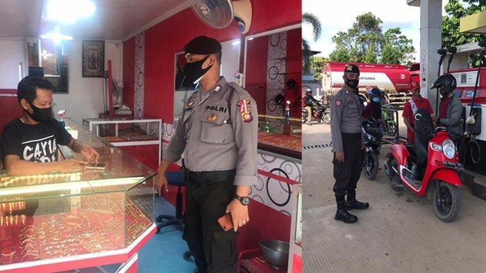 Polsek Sekadau Hilir Lakukan Patroli Dialogis Upaya Pemeliharaan Kamtibmas Ditengah Pandemi Covid-19