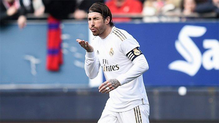 HASIL AKHIR Osasuna vs Real Madrid - Gol Isco & Ramos, Bawa Los Blancos Semakin Jauhi Barcelona
