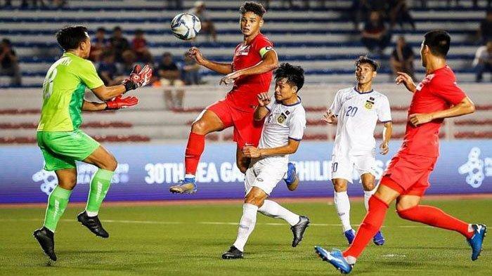 LIVE RCTI Indonesia Vs Singapura Live TVRI SEA Games Singapura Vs Timnas, Pelatih Singapura Gelisah