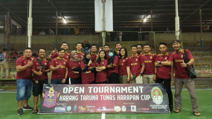 Karang Taruna Desa Sandai Sukses Gelar Turnamen Futsal