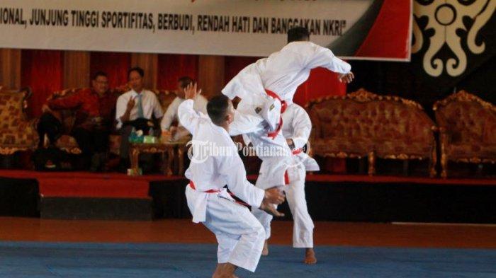PPLP Kalbar Akan Utus 6 Karateka ke Kejurnas di Banda Aceh