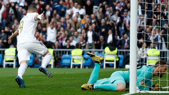 HASIL Real Madrid vs Atletico Madrid - Assist Apik Mendy Bawa Benzema Cetak Gol, Tuan Rumah Unggul