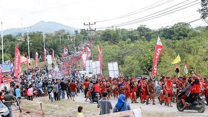Sintang Didapuk Jadi Tuan Rumah Festival Budaya Dayak ke-2