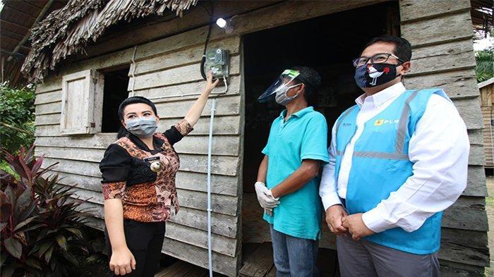 Kabupaten Landak Mendapatkan 400 Listrik Gratis Dari 1200 Program Listrik Gratis CSR PLN
