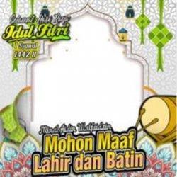 Kartu Ucapan Idul Fitri.