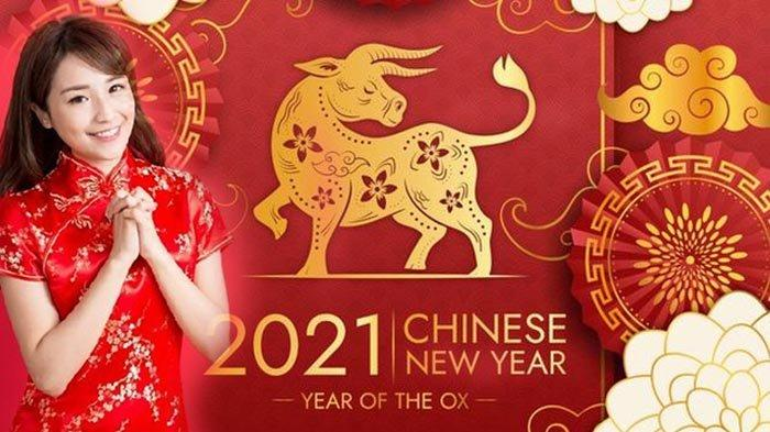 KARTU Ucapan Selamat Tahun Baru Imlek 2021 Tersedia Dalam ...