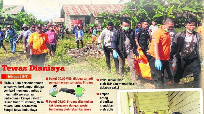Pemuda asal Sanggau Ditemukan Meninggal Dunia di Kubu Raya dengan Tubuh Penuh Luka