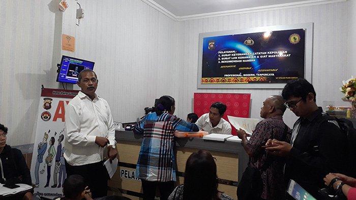 Penerimaan CPNS, Polresta Pontianak Kota Tambah Jam Operasional Loket SKCK