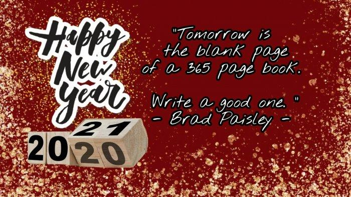 KATA-KATA Bijak Tahun Baru 2021 Lengkap Quotes dan Kutipan ...