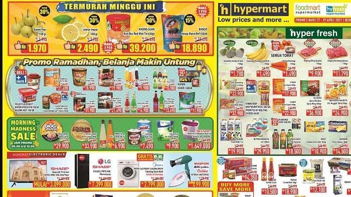 Promo Hypermart Weekday 27 - 29 April 2021, Biskuit Khong Guan dan Kecap Manis Bango Termurah