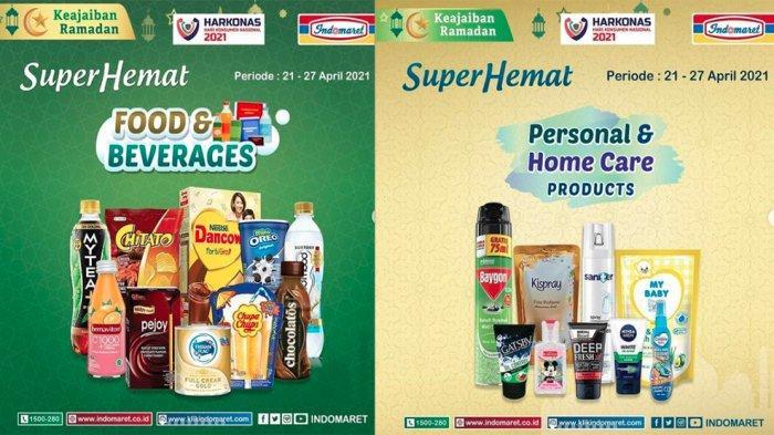 KATALOG PROMO INDOMARET 21 - 27 April 2021, Promo Heboh Super Hemat Minyak Goreng hingga Telur Ayam