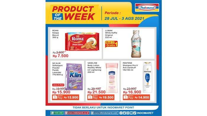 Katalog Promo Indomaret Product of The week 28 Juli - 3 Agustus 2021.