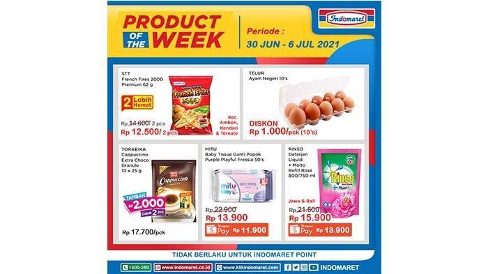Katalog Promo Indomaret Product of The Week 30 Juni - 6 Juli 2021.