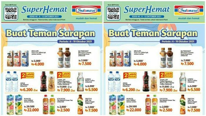 KATALOG PROMO INDOMARET 6 -12 Oktober 2021, Super Hemat Biskuit Susu & Ada Promo Heboh Minyak Goreng