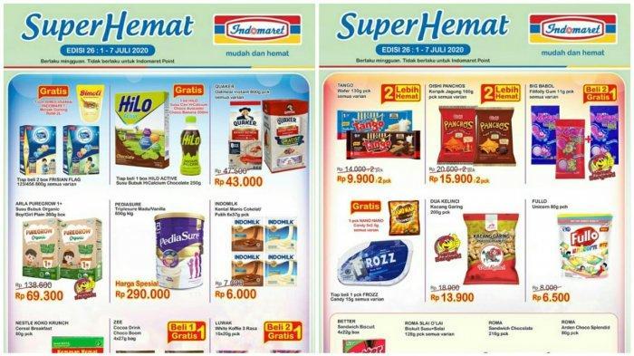 Katalog Promo Indomaret Terbaru 1 7 Juli 2020 Harga Heboh Super Hemat Susu Detergen Hingga Snack Tribun Pontianak