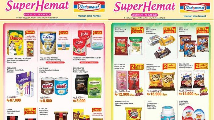 KATALOG PROMO INDOMARET Terbaru 10-16 Juni 2020, Detergen Susu hingga Snack Hemat Beli 2 Gratis 1!