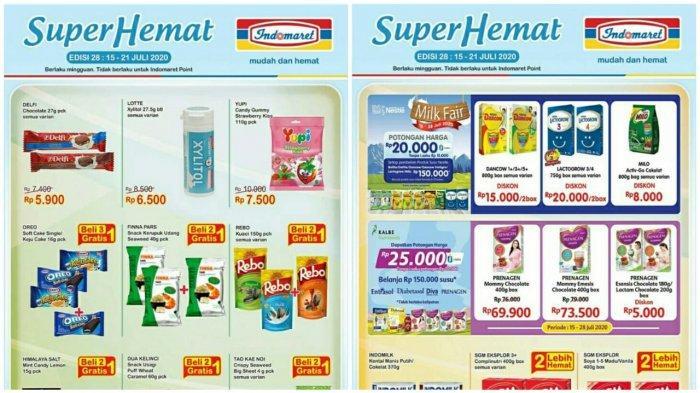 Katalog Promo Indomaret Terbaru 15 21 Juli 2020 Heboh Super Hemat Susu Popok Bayi Hingga Snack Tribun Pontianak